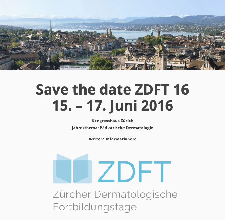 Save the date ZDFT 16