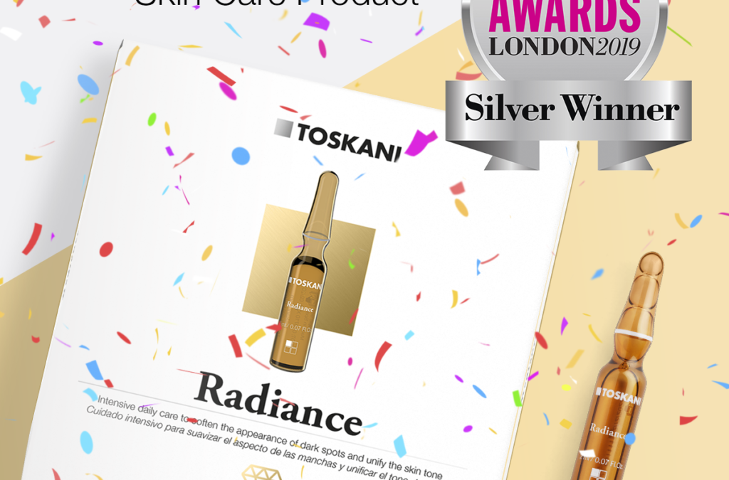 Toskani Radiance Ampoules are winners!