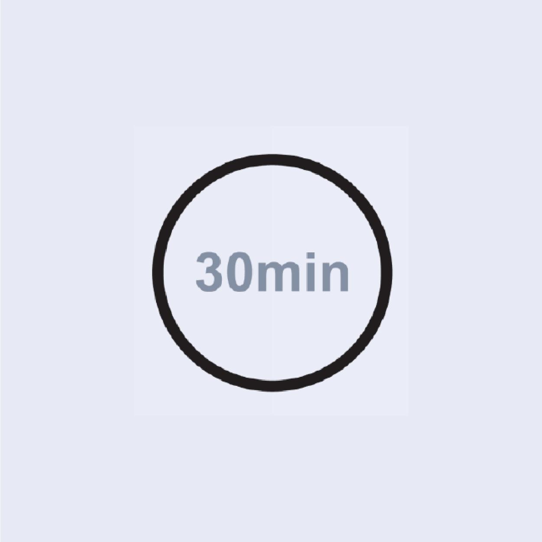 Behandlung nur 30 Minuten