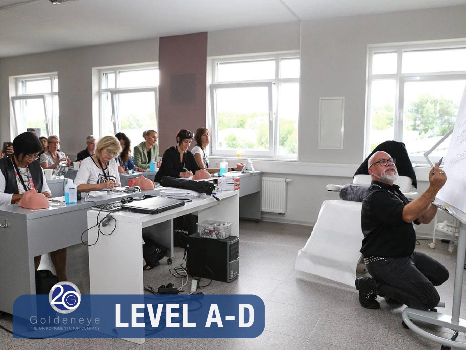 """Ausbildung zum Goldeneye Pigmentist© """"Level A-D"""" vom Neueinsteiger bis zum Profi"""