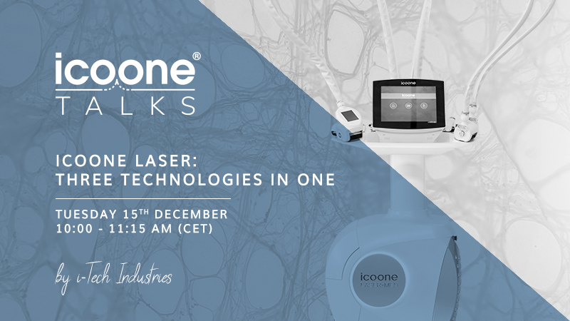 icoone Laser: three technologies in one